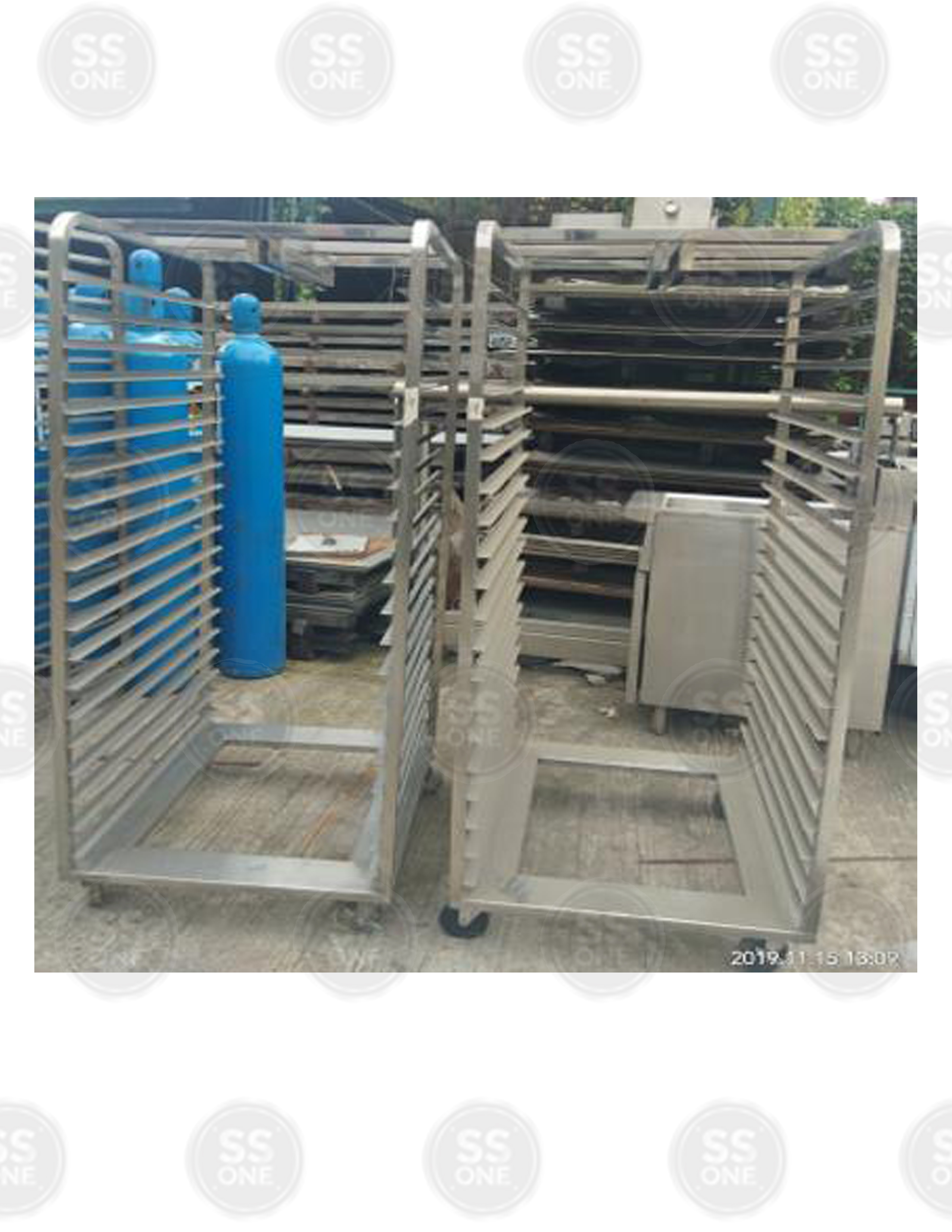MOBILE UTILITY RACK 4 LAYER BENDED TYPE