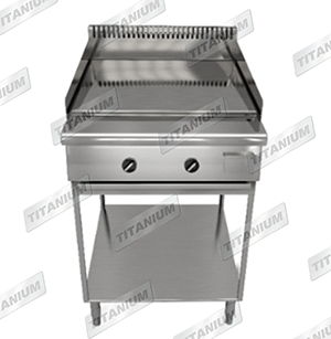GRIDDLE WITH STAND